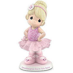 Precious Moments Porcelain Ballerina Figurine for Granddaughter