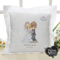 Personalized Precious Moments Wedding Pillow