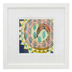 You Simply Glow Framed Print