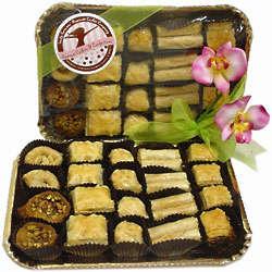 Spring Assorted Baklava Gift Platter