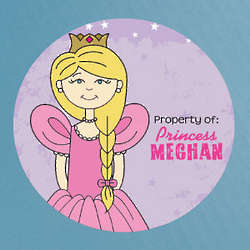 Personalized Property of Princess Labels