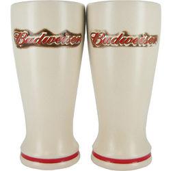 Budweiser Ceramic Pilsner Glass Set