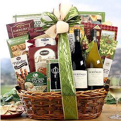 Beringer Napa Valley Assortment Gift Basket
