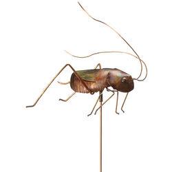 Handcrafted Cricket Garden Stake