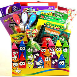 Kid's Color Me Happy Gift Basket