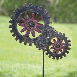 Wind-Powered Mechanic Wind Spinner