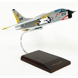 F-8E Crusader Airplane Model