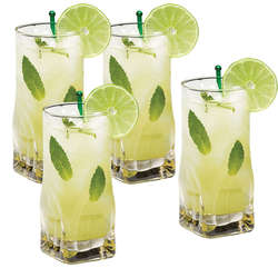 Home > Gift Ideas > Gourmet Basics Quartz Set of 4 Highball Glasses