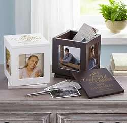 Personalized Confirmation Rotating Photo Keepsake Box