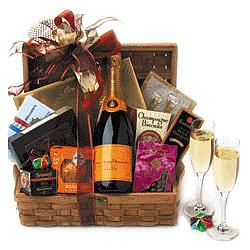 A Romantic New Year Gift Basket