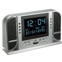 Discreet Motion Detecting Video Clock