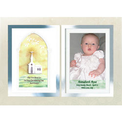 Personalized Christening Frame