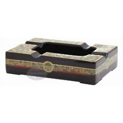 Havana Black Ceramic Cigar Ashtray
