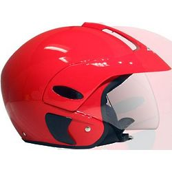 Open Face Motorcycle or Scooter Helmet