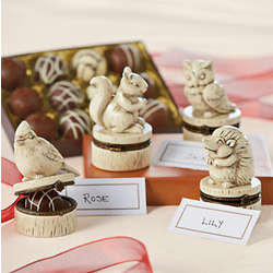 Woodland Truffle Placecard 8 Piece Set