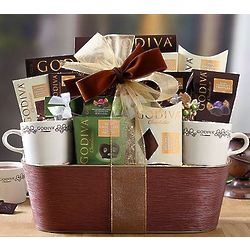 Godiva Cocoa and Truffle Collection Gift Basket