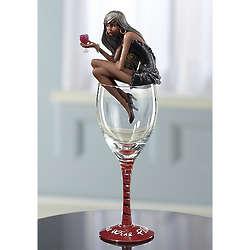 More Wine Please Diva Figurine