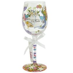 Special Bridesmaid Wine Glass
