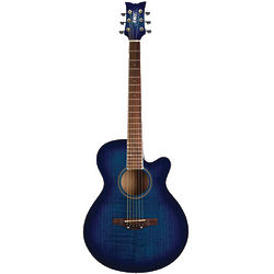 Girl's Boyfriend Blue Sophomore Acoustic Guitar