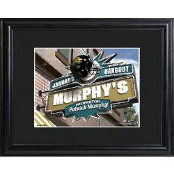 Jacksonville Jaguars Pub Sign Personalized Print