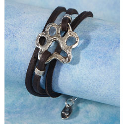 Paw Print Wrap Bracelet