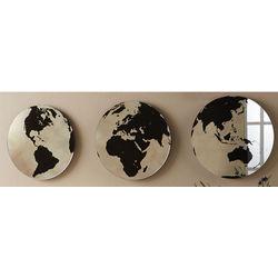 3 Globe Mirrors
