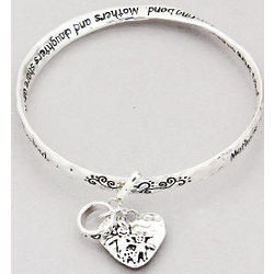 Mothers & Daughters Twist Bangle Bracelet