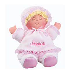 Personalized Extra Soft Baby Doll
