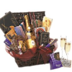 An Enchanted Cristal Gift Basket