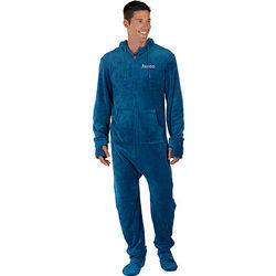 Hoodie-Footie Pajamas for Men