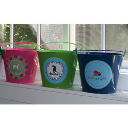 Children's Personalized Enamel Pail