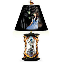 The Wizard Of Oz Hourglass Of Destiny Lamp