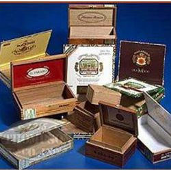 10 Premium Empty Cigar Boxes