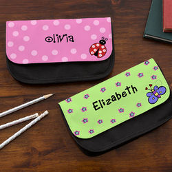 Girl's You Choose Personalized Pencil Case