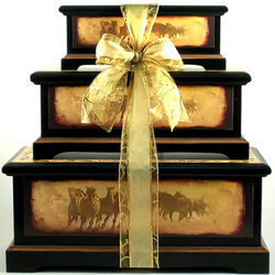 Born Free Deluxe Gourmet Trunk Gift Tower