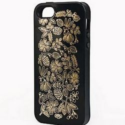 Golden Bouquet Black iPhone Case
