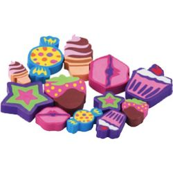 Lisa Frank Sweet Treats Erasers
