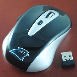 Carolina Panthers Computer Mouse