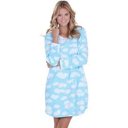 Comfy Clouds Fleece Sleepshirt