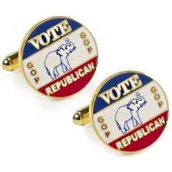 Vintage Republican Cufflinks