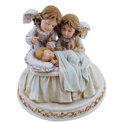 Baby with Angels Lullaby Figurine