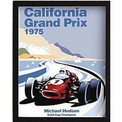 Race Car Grand Prix Framed Art Print