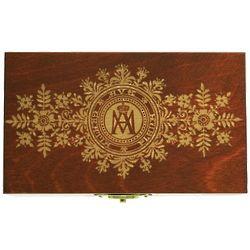 Personalized Ave Maria Cherry Memory Box