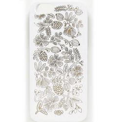Golden Bouquet White iPhone Case