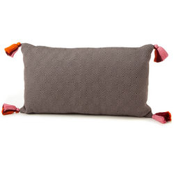 Hand-Stiched Guatemalan Lumbar Pillow
