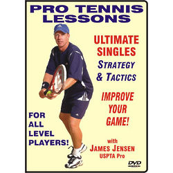 James Jensen Ultimate Singles Tennis Strategy and Tactics DVD