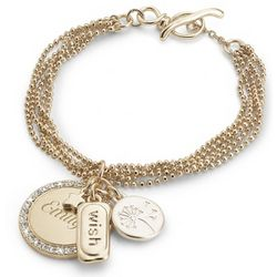 Personalized Ball Chain Wish Bracelet