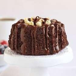 Individual Chocolate Bundt Cakes