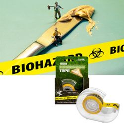 Mini Biohazard Tape