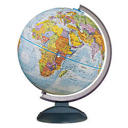 Scratch Resistant Tabletop Globe